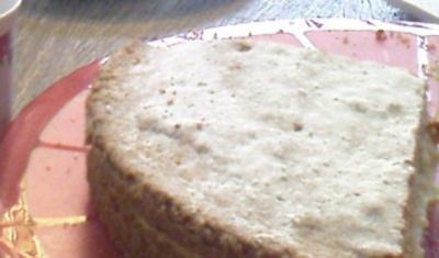 Sverigekaka med Vaniljkräm (Schwedenkuchen mit Vanillecreme) - Rezept