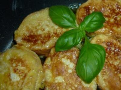 Goldgelb gebackenes Sekt-Baguette - Rezept