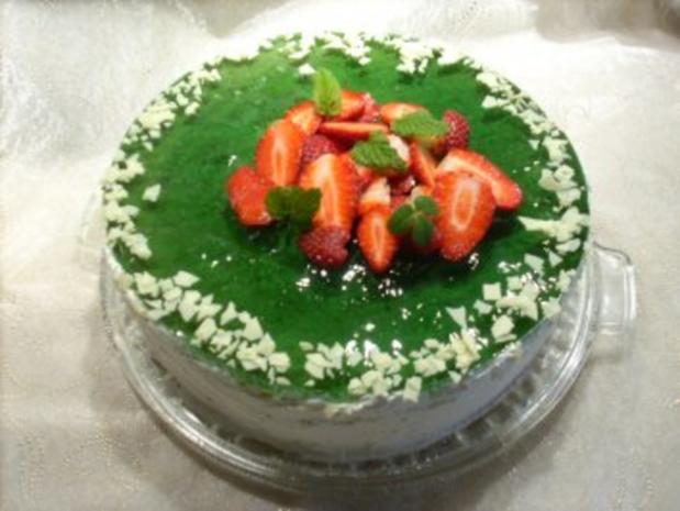 Erdbeer-Waldmeister-Torte - Rezept - Bild Nr. 6