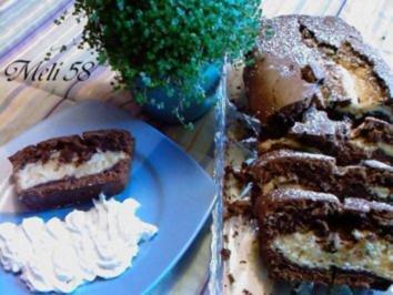Backen: Marmorkuchen Braun-Weiß - Rezept