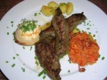 Lammfilets in Bärlauchmarinade - Rezept