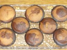 Kleingebäck - Dreierlei Muffins (Nuss, Erdbeer, Vanille) - Rezept