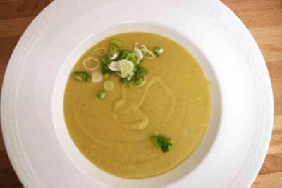 Kartoffel-Lauch-Suppe - Rezept