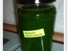 Gewürzmischung - Bärlauch- Gewürzpaste - Rezept