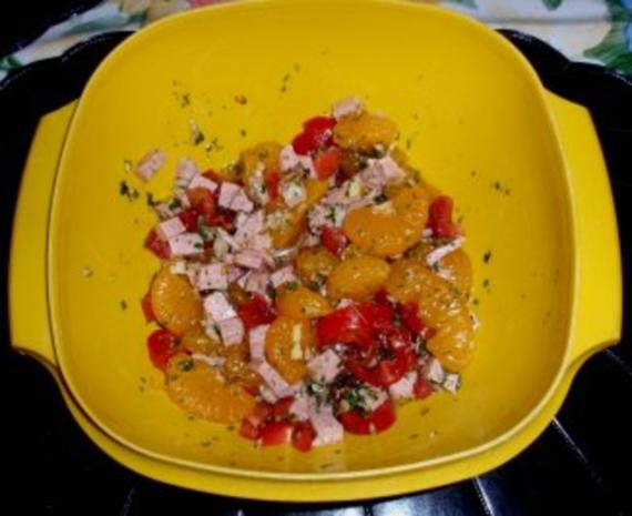 Fruchtiger Reissalat - Rezept - Bild Nr. 3