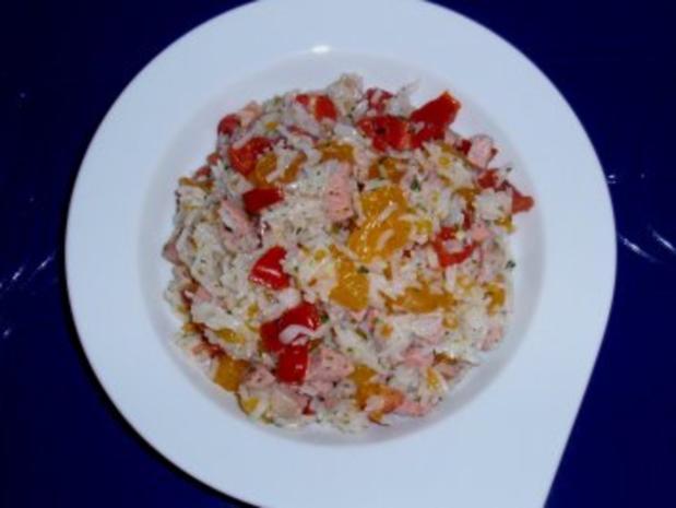 Fruchtiger Reissalat - Rezept - Bild Nr. 5