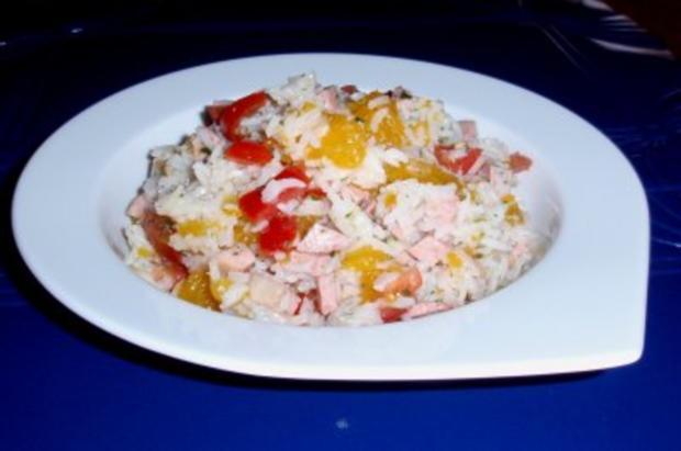 Fruchtiger Reissalat - Rezept - Bild Nr. 6