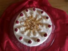 Himbeer-Sahnetorte - Rezept