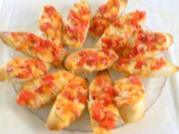 Sommerliches Bruscetta - Rezept