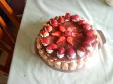 Tiramisu - Erdbeer - Torte - Rezept