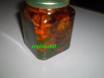 Eingelegte getrocknete Tomaten - Rezept