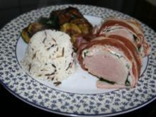Schweinefilet im Bärlauch-Speck-Mantel - Rezept