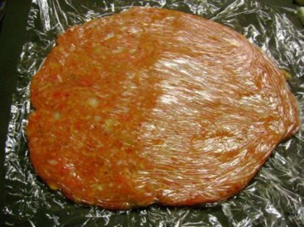 Grillen: Gefüllte Plescavica mit Schafskäse - Rezept - Bild Nr. 4