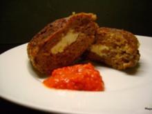 Grillen: Gefüllte Plescavica mit Schafskäse - Rezept
