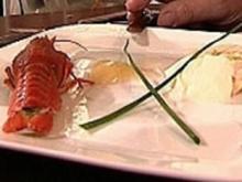 Fischpastete mit Meerrettich an Sahne und Süßweingelee - Rezept - Bild Nr. 9