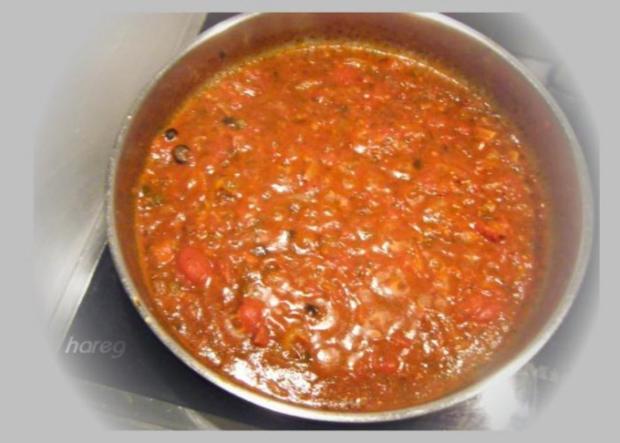 Linguine con pomodori, olive e capperi - Rezept - Bild Nr. 2