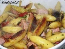Schupfnudel-Kassler-Pfanne - Rezept