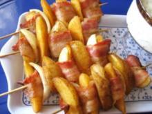 Herzhafte Kartoffel-Spieße ... - Rezept