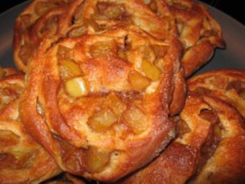Rezept: Apfelschnecken