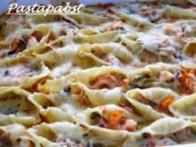 Conchiglioni mit Thunfischsauce - Rezept