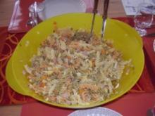 Bunter Nudelsalat - Rezept