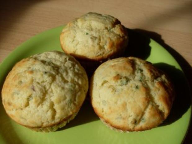 Knoblauch-Muffins - Rezept