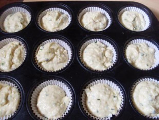 Knoblauch-Muffins - Rezept - Bild Nr. 3