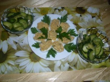 Zucchini-Salat / Salata kolokithakia - Rezept