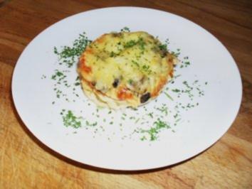 Spaghetti - Muffins - Rezept