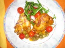 Hähnchen mediteran - Rezept