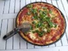Pizza Margherita - Rezept