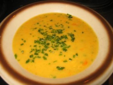 Suppe: Cremiges Kartoffel-Gemüsesüppchen - Rezept