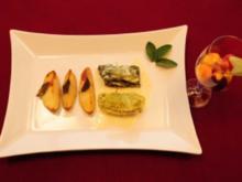 Wirsingröllchen mit Füllung und Salbei-Kartoffeln an Kugelsalat (Daniel Küblböck) - Rezept