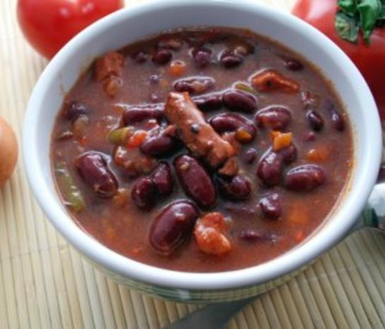 Bohnen und Fisch Eintopf aus Ghana - Rezept