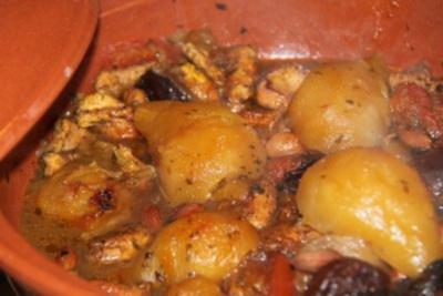 Tomatenhähnchen aus Afrika - Rezept