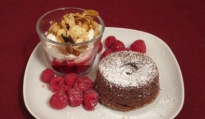 Warmer Schokoladenkuchen - Rezept