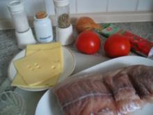 Fisch + Meeresfrüchte: Fischschnitten gefüllt - Rezept