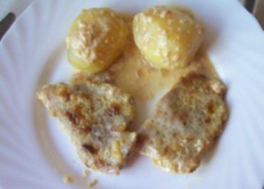 Auflauf: Sahne-Schnitzel aus dem Ofen - Rezept
