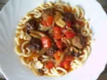 Kochen: Jägerbällchen - Rezept