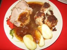 Schweinerollbraten in Altbier mariniert - Rezept