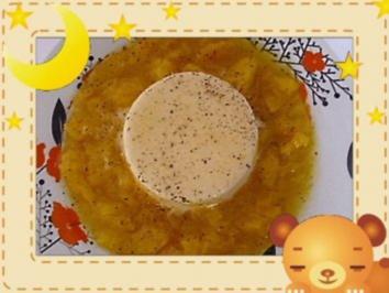Pfeffer-Parfait mit Mangosalat - Rezept