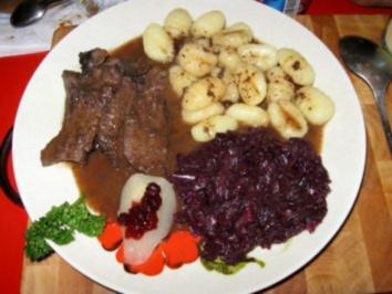 Rezept: Wildhasenkeulen in Rotwein