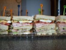 Kleiner Snack - Sandwiches - Rezept