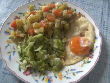 Kartoffel- Gemüse- Pfännchen - Rezept