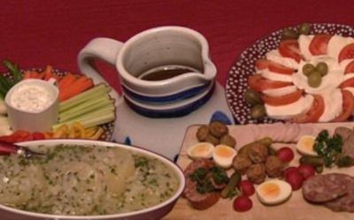 Rezept: Hessisch Worscht, Hessisch Käs', Hessisch Knerzje, Hessisch Gsöff (Jessica Wahls)