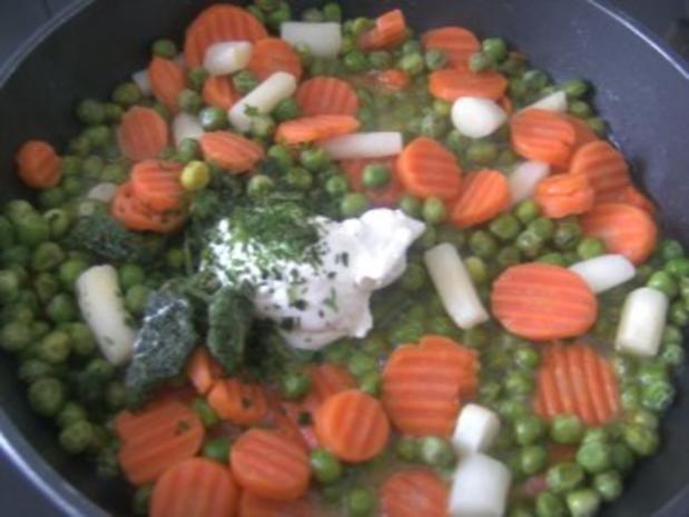 Gemüse - Nudel -Pfännchen-  Ein ganz schnelles Essen- - Rezept - Bild Nr. 5