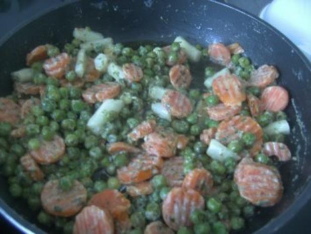 Gemüse - Nudel -Pfännchen-  Ein ganz schnelles Essen- - Rezept - Bild Nr. 6