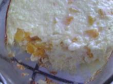 Milchreis mit Pfirsich - Rezept
