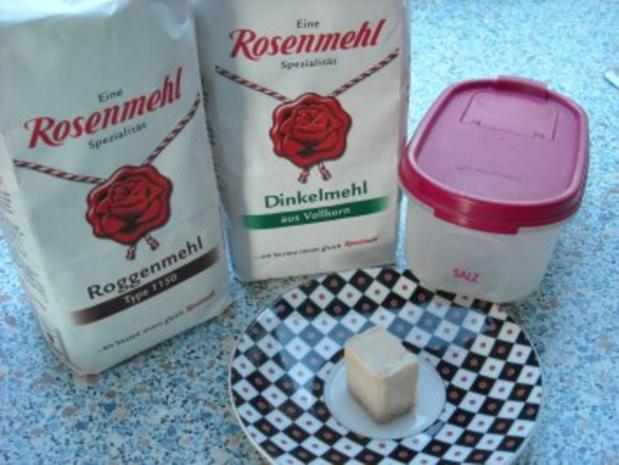 Dinkel-Roggen-Brot - Rezept - Bild Nr. 3