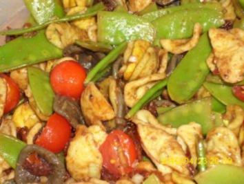 Salat: Mediterraner Nudelsalat - Rezept